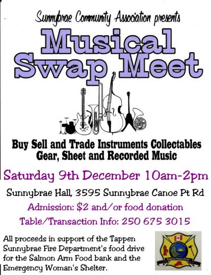 Music Swap Dec