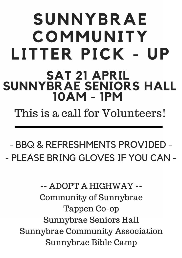 Sunnybrae Community Litter pick - JPEG