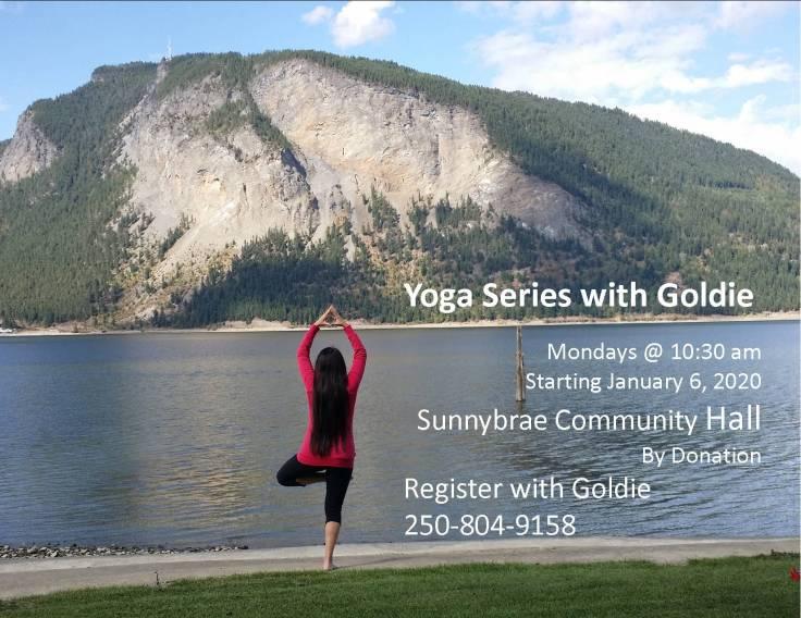 2020 Yoga poster